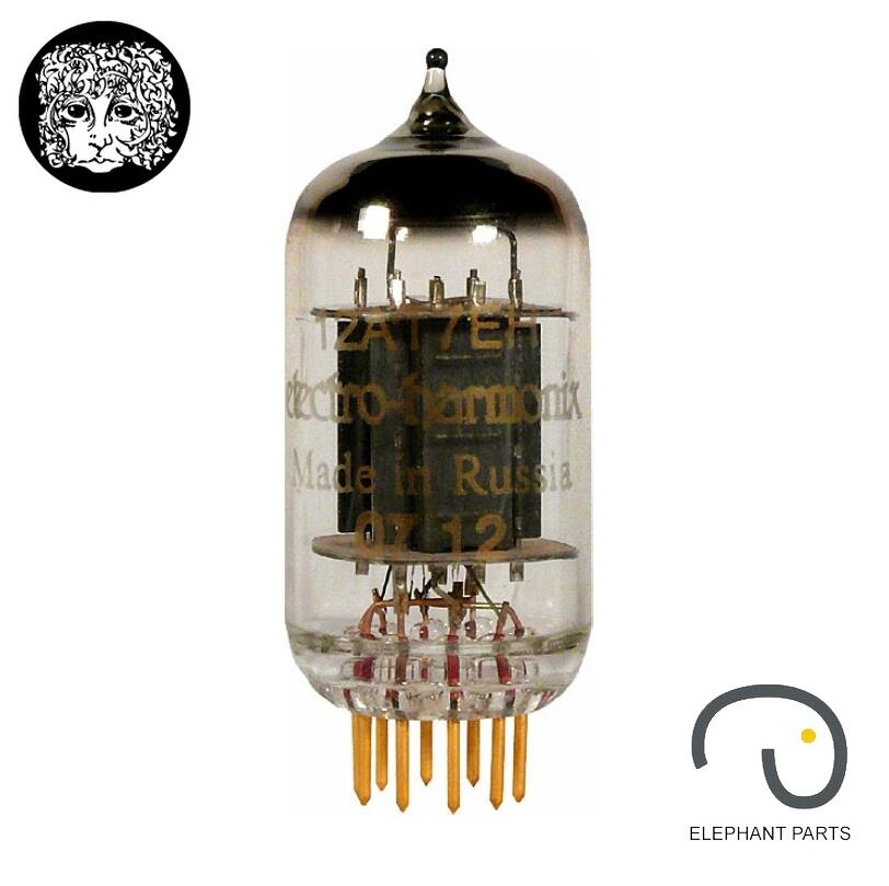Music Hall Brand New 1PC Russia Vacuum Tubes Electro-Harmonix EH 12AT7/ECC81 GOLD PIN For Tube Amplifier Free shipping 2016 lastest xiangsheng 728a vacuum 12at7