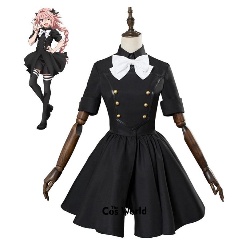 Fate Grand Order Apocrypha Rider Astolfo Asutorufo Uniform Dress Coat Outfit Anime Cosplay Costumes