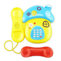 Electronic Toy Phone Cartoon Mushrooms Mobile Phone Educational Learning Music And Sound Telephone Toy For Children