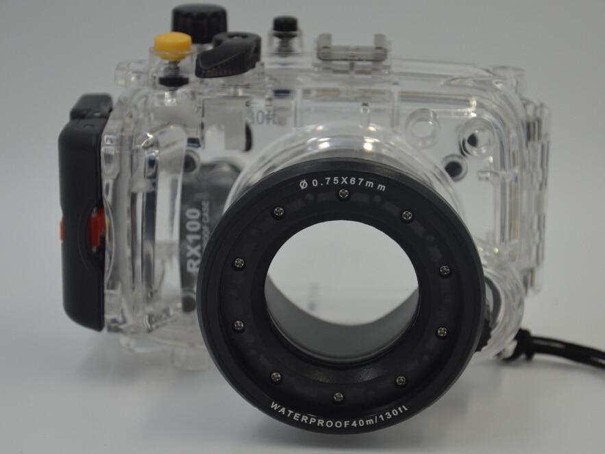 Meikon 40M underwater Waterproof Housing Case for Sony DSC RX100 II RX100 RX100 II Mark II