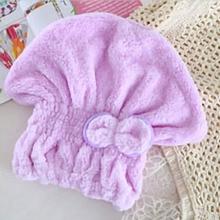 6 color microfiber quick-drying hair cap scarf child pregnant woman ladies hat shower dry hair towel head cap