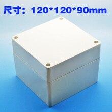 waterproof Plastic Project Box Instrument Enclosure 120x120x90mm(L*W*H) DIY NEW