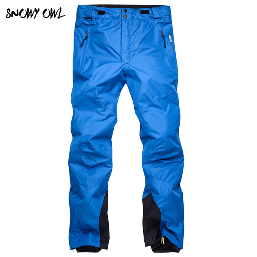 2018 Unisex snowboarding pants lovers ski pants with straps sports trousers waterproof windproof breathable warm ski pants h60 womens white ski pants female black snowboarding riding snow pants outdoor colorful sports trousers waterproof breathable warm
