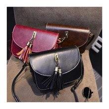 Hot Style 2019 Lady Summer Fringe Mini Bag Fashion Women's Bag Small Phone Bag Girls Single Shoulder Bag Female Cross-body Bag цена