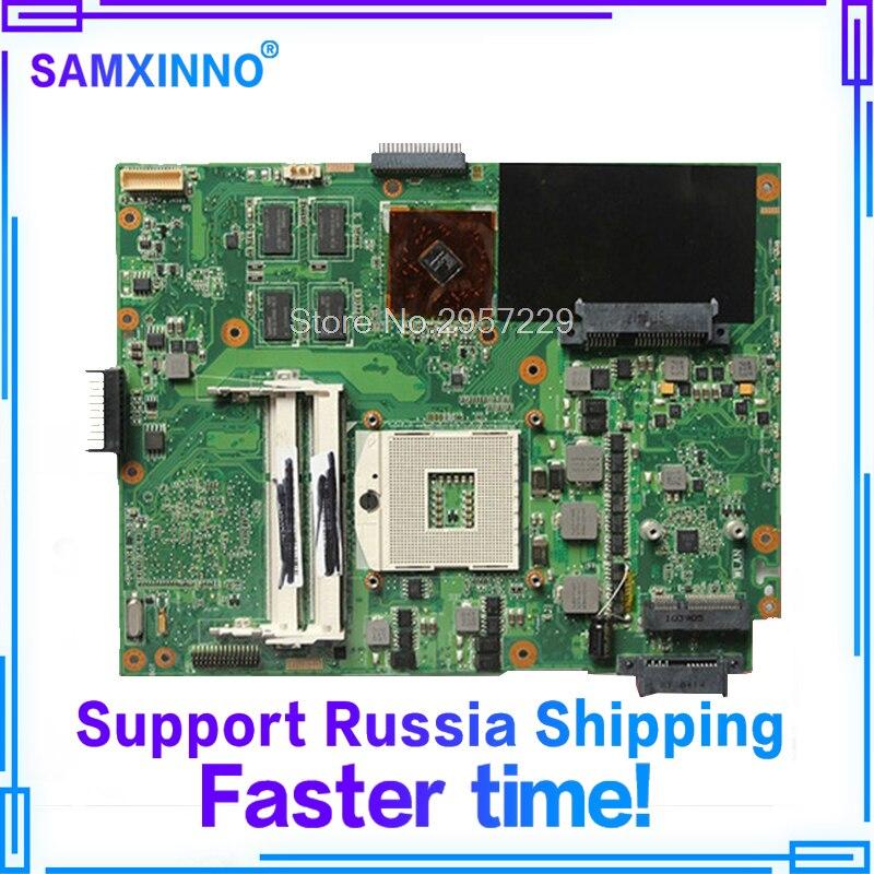For ASUS K52JU K52J A52J K52JR motherboard K52JT K52JE X52J K52JT Laptop motherboard K52JR REV 2.0 1GB mainboard for asus k52 x52j a52j k52j k52jr k52jt k52jb k52ju k52je k52d x52d a52d k52dy k52de k52dr audio usb io board interface board