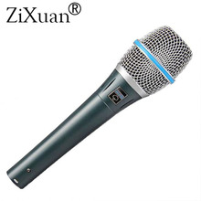 Microphone Vocal supercardioïde Beta87A de qualité supérieure Beta 87A 87 un micro avec un son clair et lumineux!