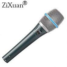 Top Qualità Beta87A Supercardioide Vocal Microfono Beta 87A 87 A Mike Con Brillanti Clear Sound!