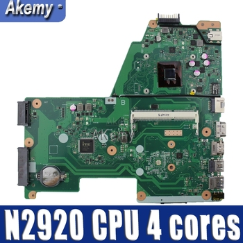 X451MA  laptop motherboard REV 2.1 For ASUS F451M X451M X451MA Mainboard DDR3 100% test N2920 CPU 4 cores