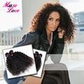 Белла Мечта Волос Продукты Бразильский Kinky Вьющиеся Волосы Девственницы 4 Связки Сделки Очень Мягкий Tissage Bresilienne Вьющиеся Волосы ACE Волос