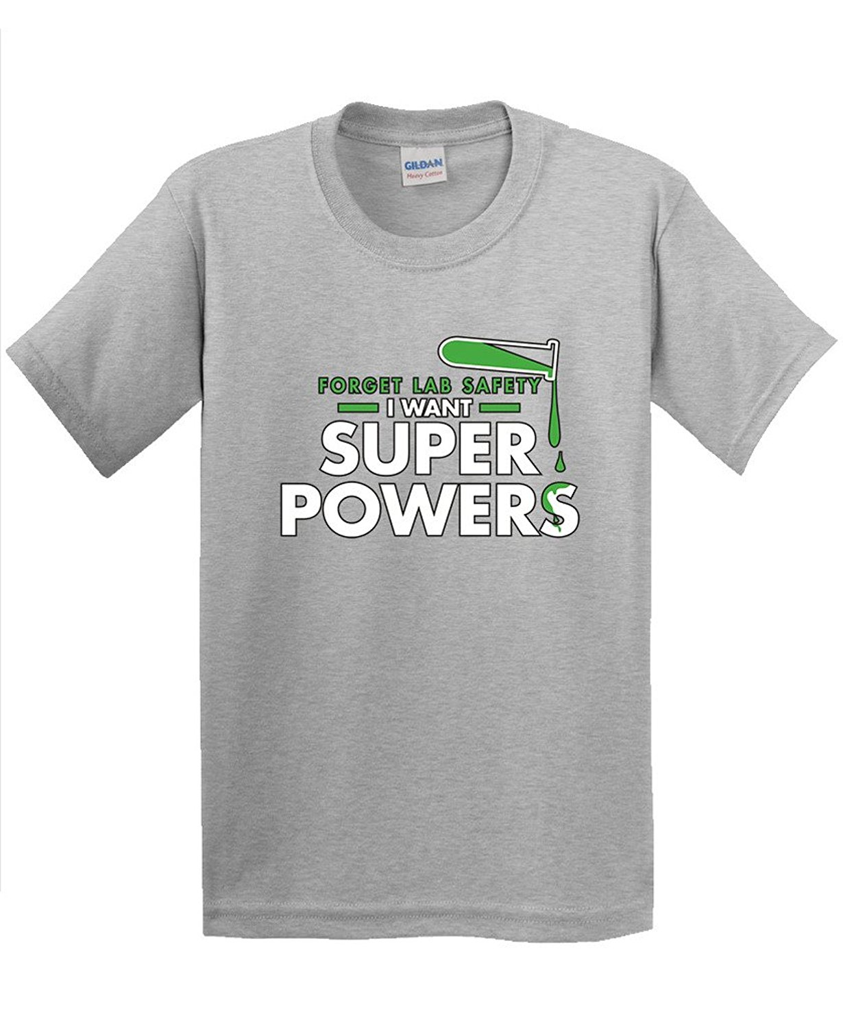 Hot New 2017 Summer Fashion T Shirts Forget Lab Safety I Want Super Powers Gift Idea Novelty Science Funny T Shirt