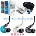 SE215 Fones De Ouvido Estéreo de Alta Fidelidade de Ouvido Fones de Ouvido com Cancelamento de Ruído Baixo Nova Wired (preto azul & clear) VS PB2.0 PB3.0 se535 SE215M +