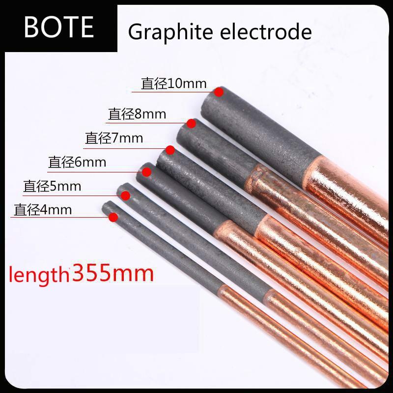 Electrode Carbon Welding Heating Rods Dia4-10mm 5pcs/lot Spotter Spot Stud Welder Metal Graphite Heat Shrink Weld Rod