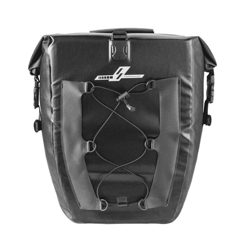 Super vente-sac de sacoche de vélo étanche grande capacité 27L sac de siège arrière de vélo de voyage en plein air pour vélo de route de montagne
