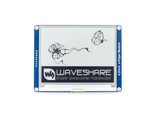Waveshare 4,2 pulgadas e-ink display negro/blanco e-paper con interfaz SPI compatible para Raspberry Pi/Arduino/Nucleo/STM32 3,3 V/5V(China)