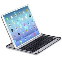 Black White Ultra Slim Russian Hebrew Spanish Wireless Bluetooth 3 0 Keyboard Dock Cover Case For