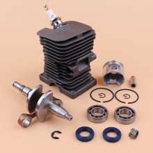 38MM Engine Motor Cylinder Piston Kit WT Crankshaft Bearing For ST MS170 MS180 018 Chainsaw Replace Parts 38mm cylinder piston crankshaft engine pan spark plug fit stihl ms170 ms180 018