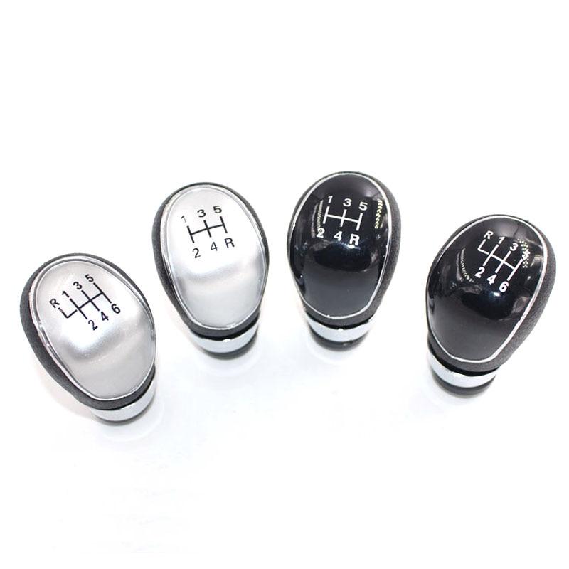 Gear Shift Handle Knob Caps 5 Speed Replacement For Ford Focus MK2 MK3 Fiesta C-max B-max Kuga Transit