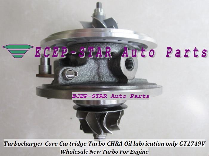 Free Ship Turbo CHRA Cartridge GT2056V 763360 763360 5001S 757246 757246 0001 For font b Jeep