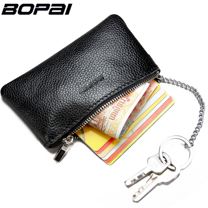 Genuine Leather Coin Purse Leather Zipper Coin Pouch Men Women Coin Wallet Change Pocket Leather Key Bag monederos mujer monedas coin purses women purse for coins children s wallet kids wallets cats fashion small bag gato monederos mujer monedas carteira