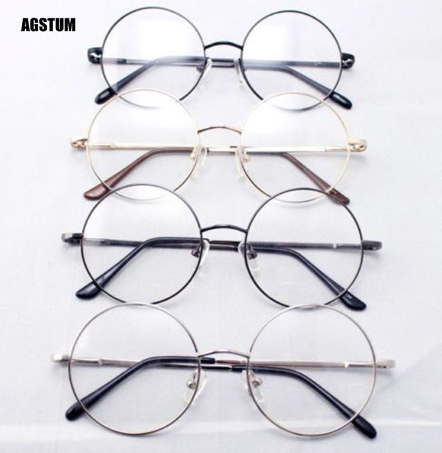 b5816f9da3 Agstum 46mm Round Vintage Harry Potter Eyeglass Reading Glasses Reader +1  +1.5 +2 +3 +4