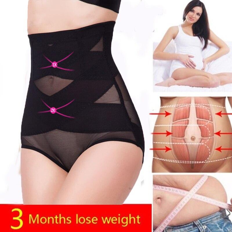 Women Body shaper Slimming underwear waist slimming pants shapewear trainer corrective tummy Control