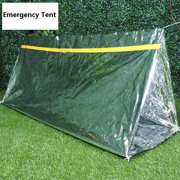 Thermal Blanket-Outdoor Waterproof Thermal Emergency Rescue Foldable Military Survival Blanket