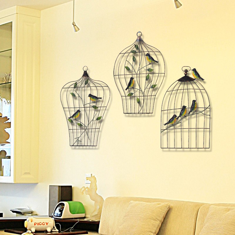 Creative Wall Decorations Living Room Wall Straps Home Walls Iron ...