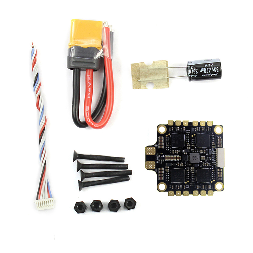 HAKRC 4x50A 4 in 1 50A ESC Mini Size 3-6S BLHeli_32 5V 3A BEC Dshot1200 for DIY Quadcopter FPV Racing DroneHAKRC 4x50A 4 in 1 50A ESC Mini Size 3-6S BLHeli_32 5V 3A BEC Dshot1200 for DIY Quadcopter FPV Racing Drone