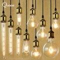 E14 E27 Edison Lâmpada Led 2 w 4 w 6 w Led Filamento Do Vintage Bombillas Levou Luz Bulbo Lampada Levou Poupança de Energia da Vela De Vidro Retro lâmpada