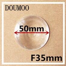 Diameter 50 mm Fresnel Lens Focal length 35 mm High light condenser Fresnel Lens used VR glasses 3D Fresnel lens