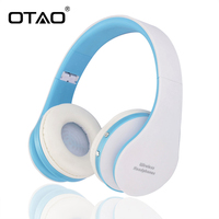 Wireless Bluetooth Headphones Child Headset With Bluetooth 4 1 Stereo Microphone For Music Foldable Sport Earphone