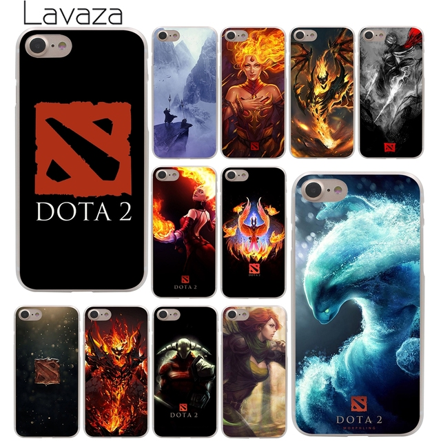 Lavaza Dota  Logo Hard Phone Cover Case For Apple Iphone X Xr Xs Max