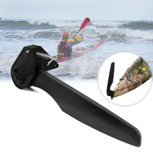 Canoe Durable Tool Rear Boat Tail Accessories Watercraft Nylon Foot Control Part Kayak Rudder Direction Steering System