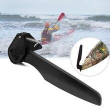 Kanu Durable Werkzeug Hinten Boot Schwanz Zubehör Wasserfahrzeuge Nylon Fuß Control Teil Kajak Ruder Richtung Lenkung System
