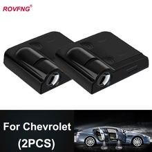 Rovfng Добро пожаловать светодиодный Автомобильный Дверной светильник