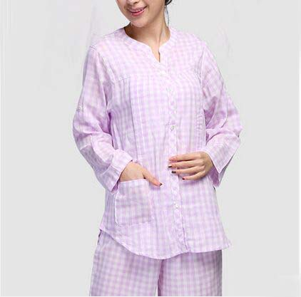 ФОТО Winter and Autumn Women Big Size Full Sleeve Pregnant Clothes Maternity Sleepwear Cotton Maternal Nursing Breastfeeding Pajamas