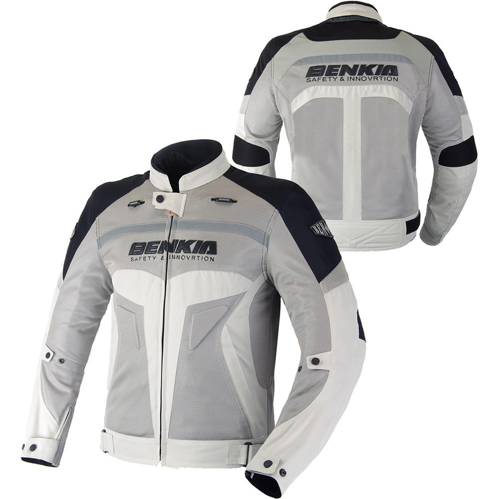 BENKIA Chaqueta de moto Hombres Ropa de carrera Primavera y otoño - Accesorios y repuestos para motocicletas - foto 3