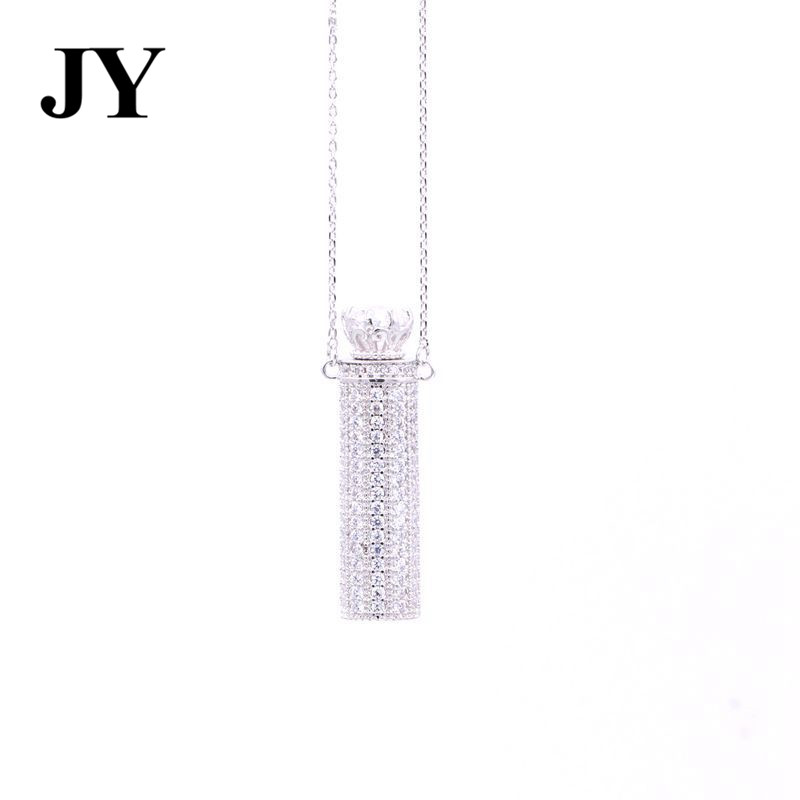 JY New Silver Color Special Pendant For Women Best love Gift For Friend Charm Vintage Jewlery party Elegant Necklace For Friend
