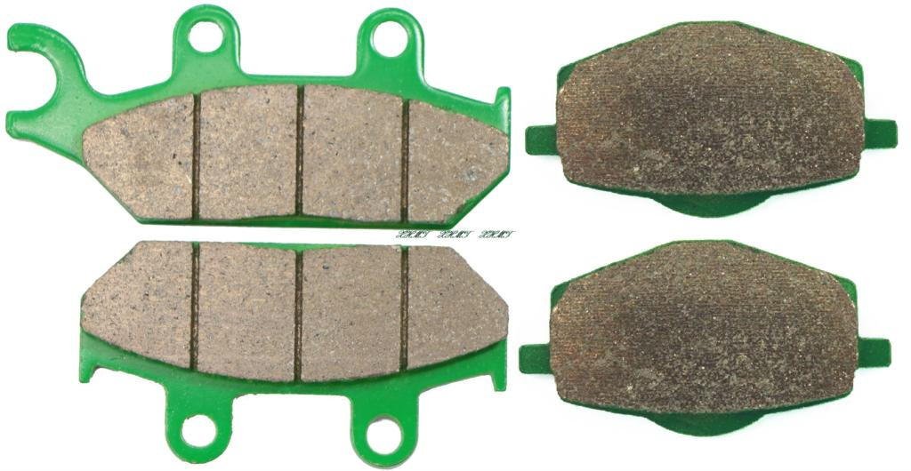 Brake Pad Set for YAMAHA XTZ660 XTZ 660 TENERE 1991 1992 1993 1994 1995 1996 1997 1998 / 400 ARTESIA 1991 & up