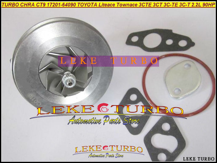 TURBO Cartridge CHRA CT9 17201-64090 Turbocharger For TOYOTA Lite Townace Town ace Estima Emina Lucida 3CTE 3CT 3C-T  2.2L 90HP