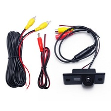 Car Reverse Rear View Camera Waterproof Night Vision HD Wire Parking Vedio Monitor Electronics Vehicle