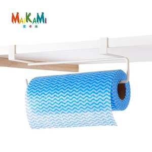 MAIKAMI Bathroom Roll Paper Holder Kitchen Door Hook