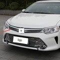 Acessórios de decoração Do Carro Cromo Amortecedor Dianteiro Grill Guarnição Para Toyota Camry 2015