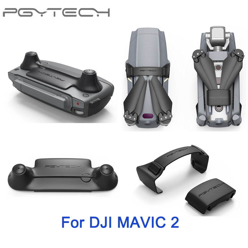 PGYTECH For DJI Mavic 2 Pro Propellers Motor Holder Fixed Protection Guard Fixator/ Remote Controller Rocker Stick Protector pgytech remote control thumb stick guard rocker protector holder for dji mavic pro mavic pro platinum dji drone