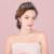 Nuevo Accesorio Pelo de La Novia de Aretes Collar de Circón Joyería de la Boda Matrimonio Boda Moldeado Hecho A Mano Pelo de La Corona