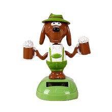 1 шт., Очаровательная Танцующая собака, кролик, животное, качающаяся, анимированная игрушка, танцующая игрушка, украшение автомобиля, подарок# M