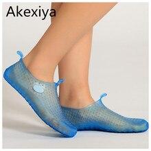 Akexiya бесплатная доставка 2017 новые производители, продающие сандалии тапочки болотных дайвинг обувь плавание для любителей унисекс оптовая