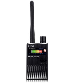 RF Signal Detector, Wireless Hidden GPS Tracker Higher Sensitivity Multi-Functional GSM Device Finder Radio Frequency Scanner