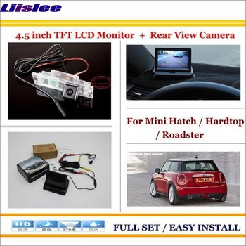 """Liislee For Mini Hatch / Hardtop / Roadster Car Reverse Backup Rear Camera + 4.3"""" LCD Monitor = 2 in 1 Rearview Parking System"""