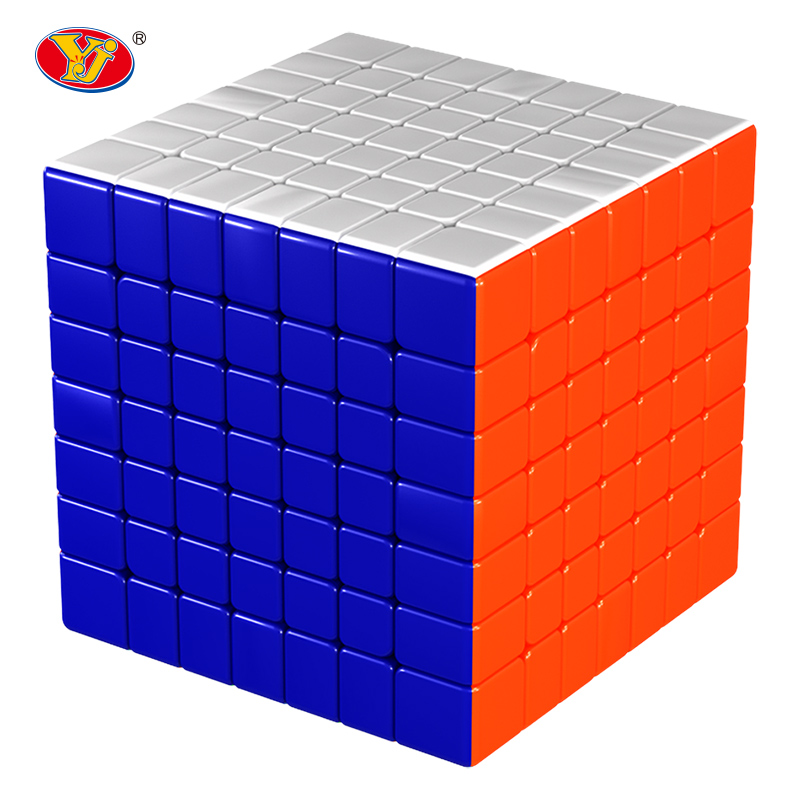 7x7x7 Speed Cube 7 Layers Black Stickerless Puzzle 7*7*7 Education Toys For Children